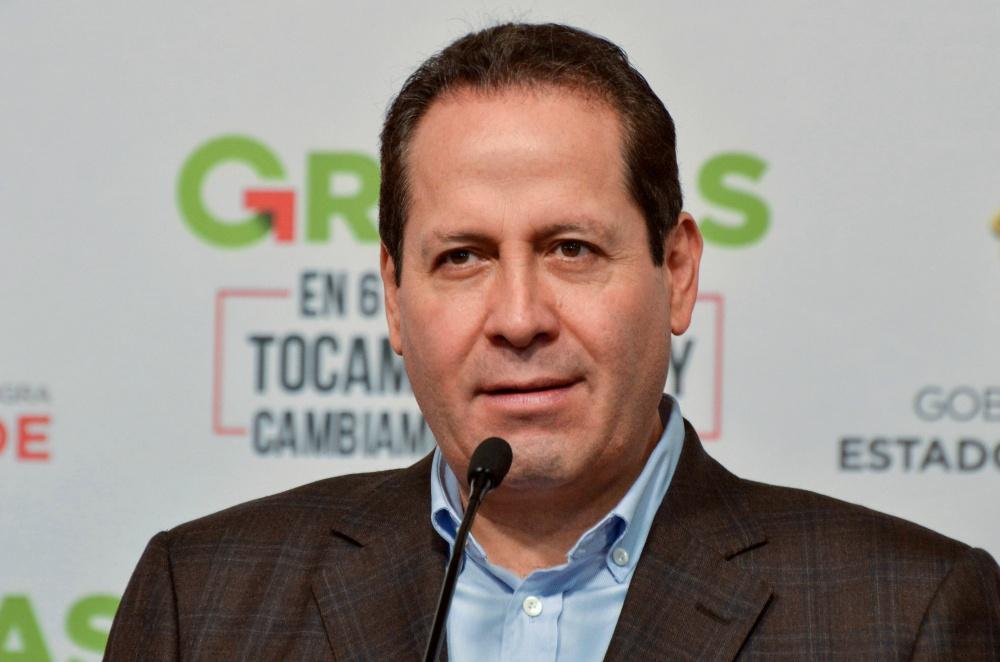 Eruviel Ávila deja dirigencia del PRI CDMX