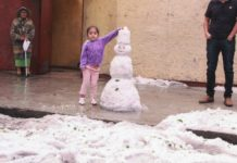 nieve artificial