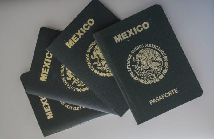 Costo del pasaporte en 2018.
