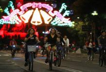 Antes de que se termine el 2017 se realizará el último paseo nocturno en bicicleta por la Ciudad de México. ¡Prepara tu bici!