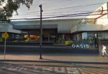 secuestro en un centro comercial