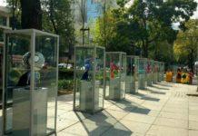 Hay una exposición de Tim Burton en Paseo de la Reforma.