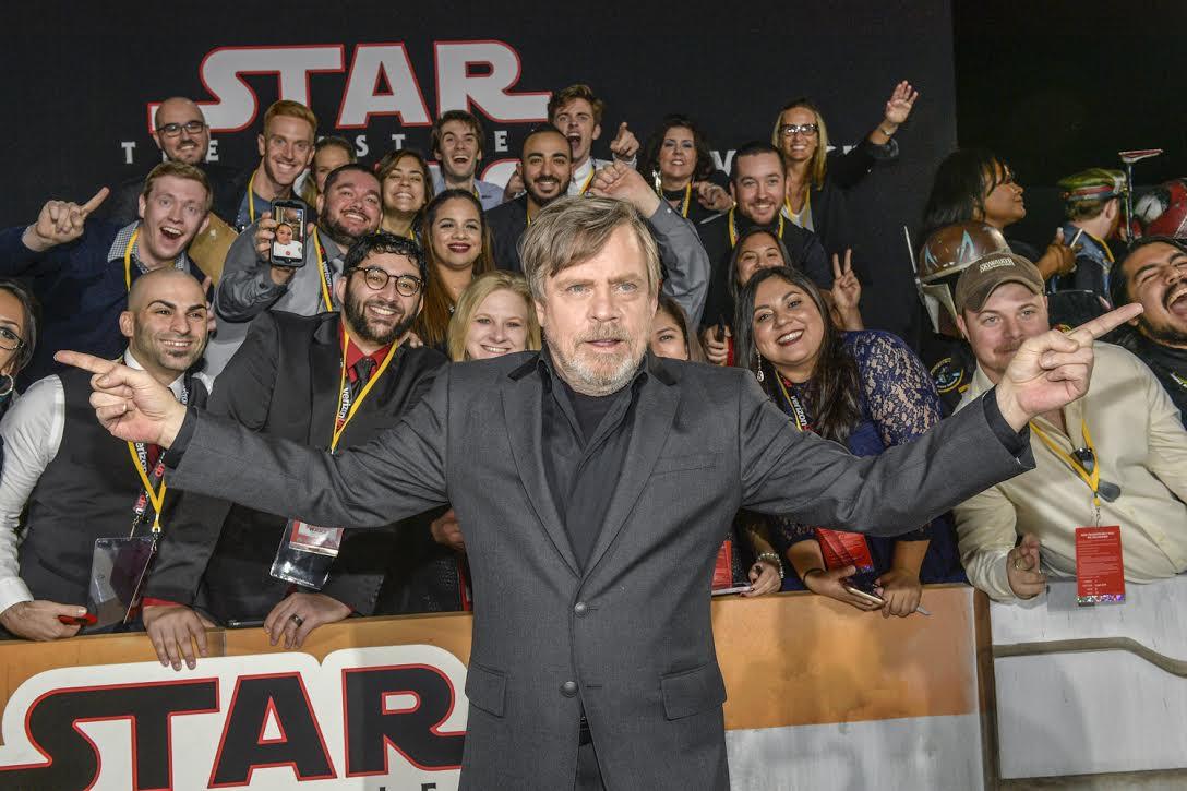 Mark Hamill a Star Wars