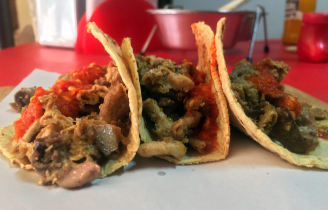 Tacos de tripa Las Tablitas