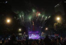 Ángeles Azules en Reforma