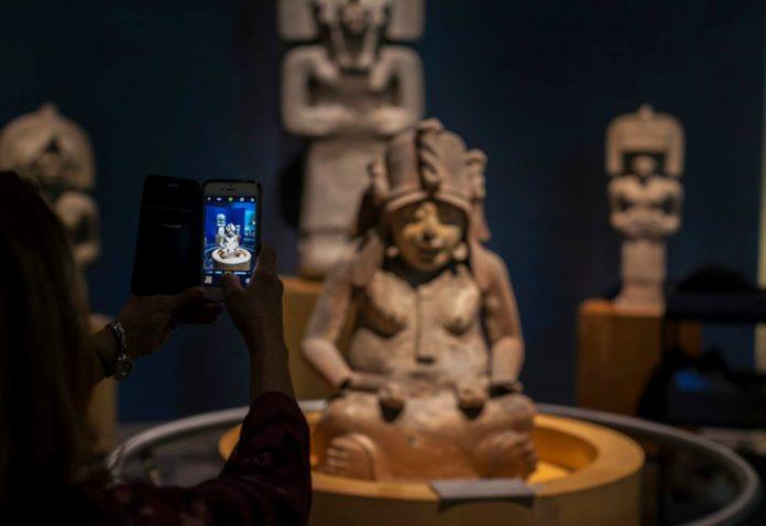 app para el Museo Nacional de Antropología
