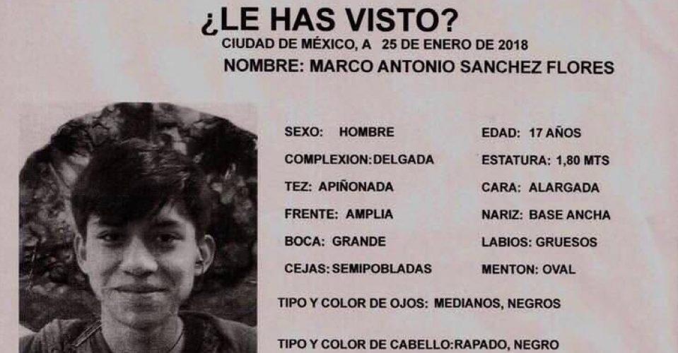 Disputa mediática — Caso Marco Antonio