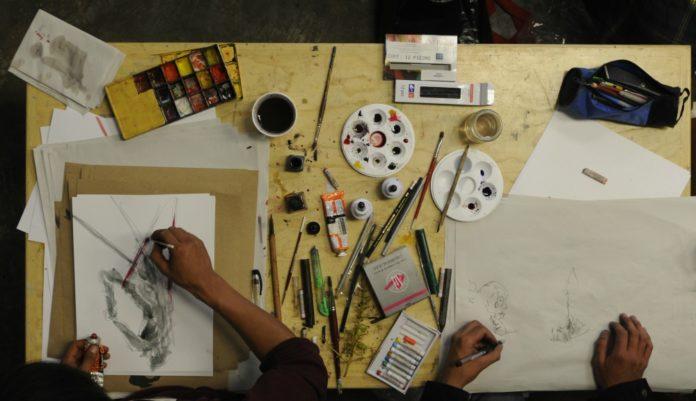 maratón de dibujo en el munal