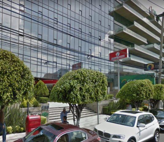 Hombres armados asaltaron un banco en Lomas de Chapultepec