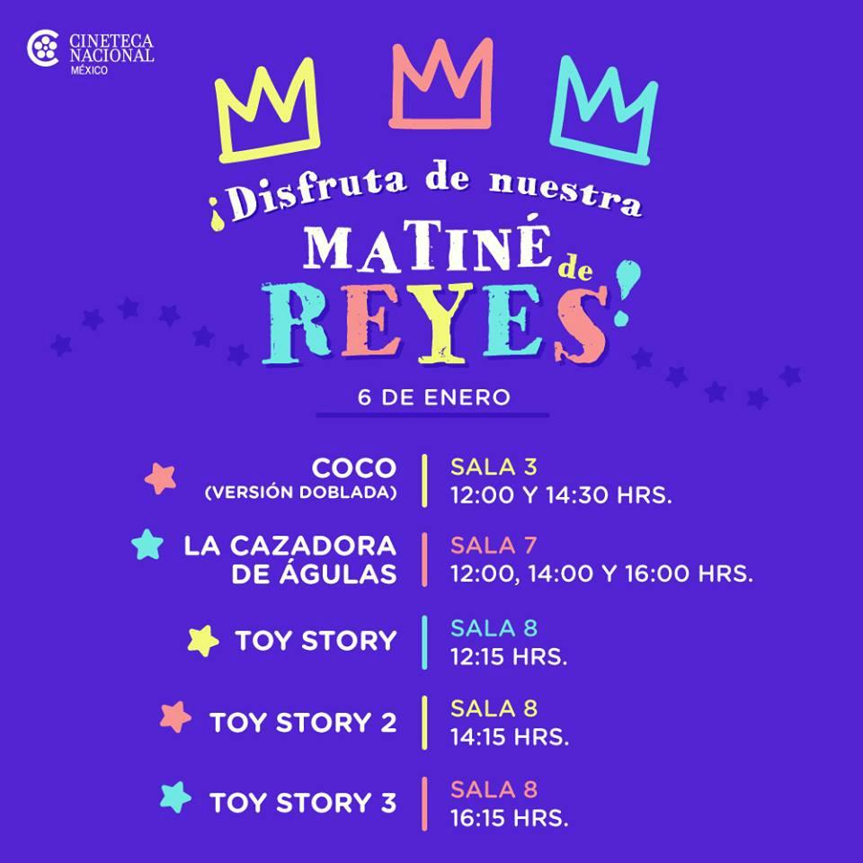 Matiné de Reyes en la Cineteca