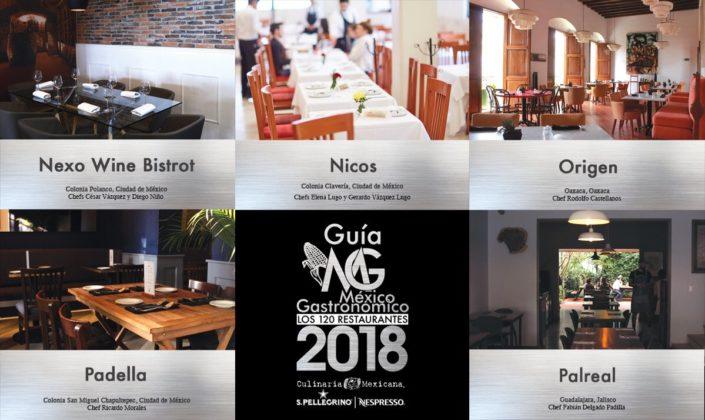 Guía México Gastronómico 2018