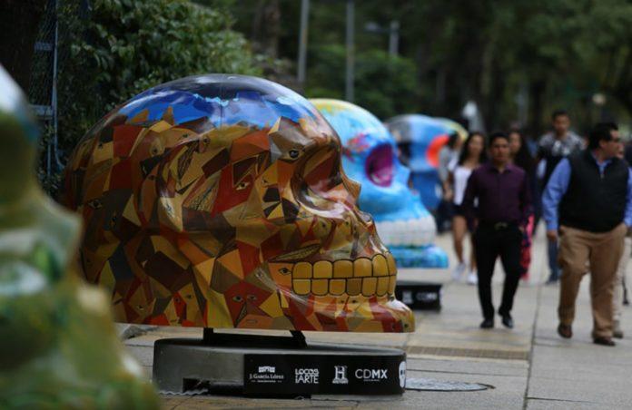 ¿Extrañabas a los Mexicráneos? ¡Volverán a la Ciudad de México! Las enormes y coloridas piezas se instalarán en Paseo de la Reforma.