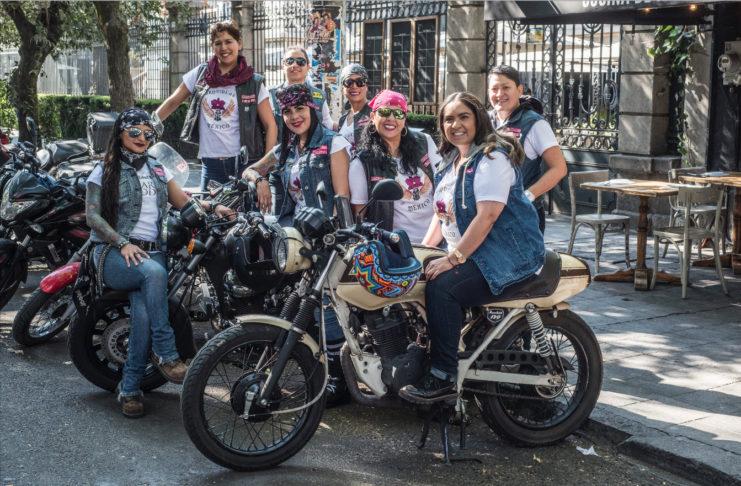 Motociclistas-mujeres