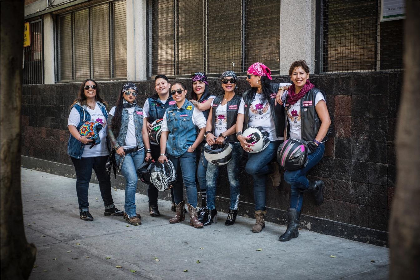 Motociclistas mujeres