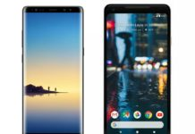 Note 8 vs Pixel 2 XL