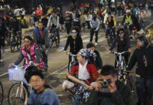 Primer Paseo Nocturno en bicicleta de 2019