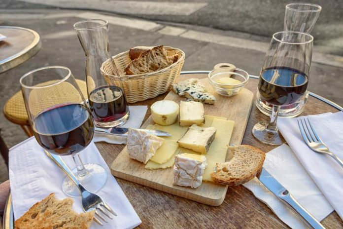 Ruta del vino y el queso