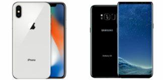 El duelo del siglo: iPhone X vs Samsung Galaxy S9, ¿cuál es el mejor?