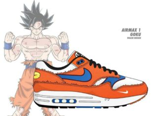 Tenis de Dragon Ball Nike
