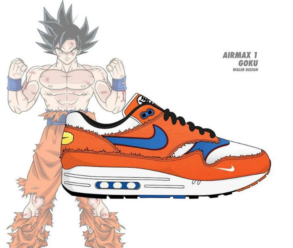 brand new c95c8 8361a ¿Ya estás listo para los tenis de Dragon Ball Nike