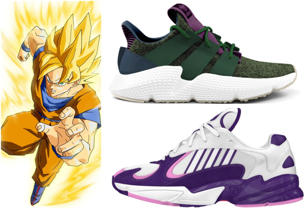 new style d1bf0 079a5 tenis de dragon ball