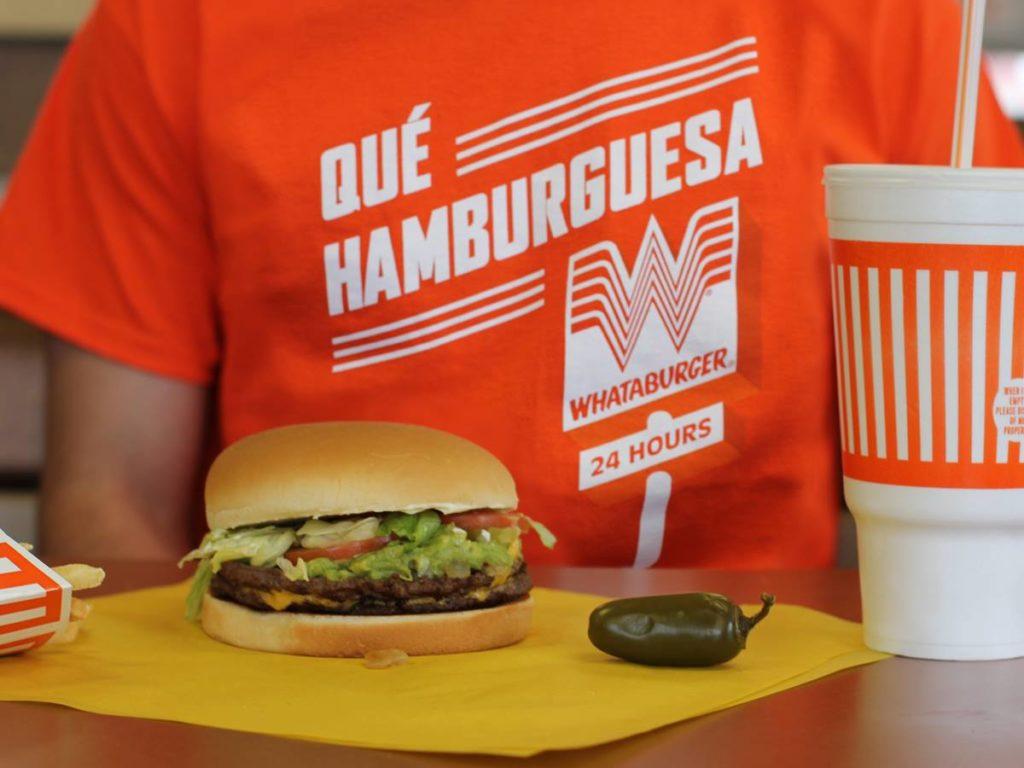 Hamburguesa de Whataburger