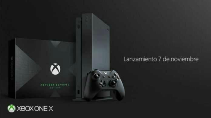 xbox one x a un peso