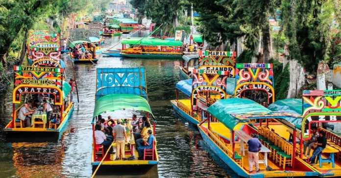 Xochimilco Boats Party