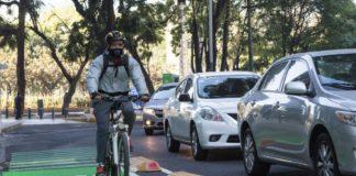 ciclovía en Reforma