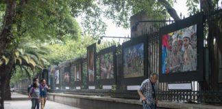 galería de reclusas en Chapultepec