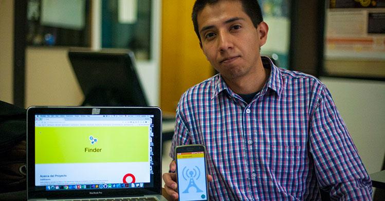 Politécnicos crean app para localizar personas extraviadas tras sismo