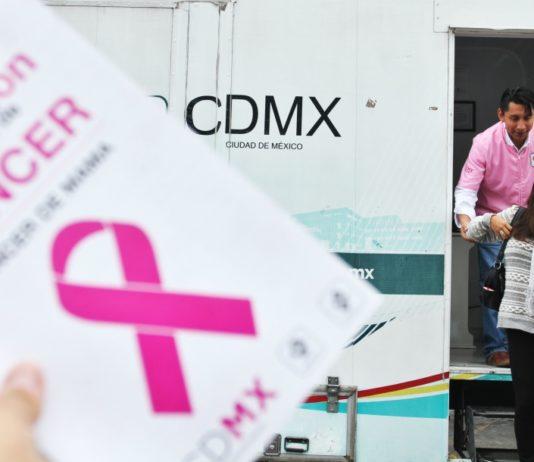 mastografías gratis en la Ciudad de México