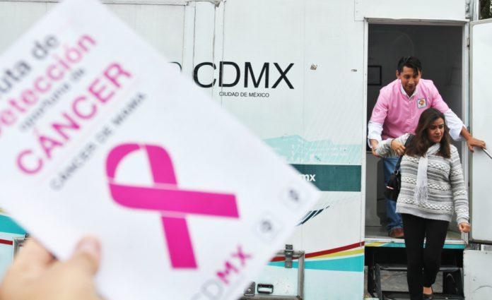 mastografías gratis en la CDMX