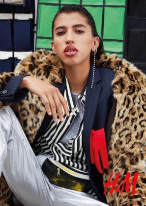 Campaña para H&M, modelo Fernanda Álvarez.