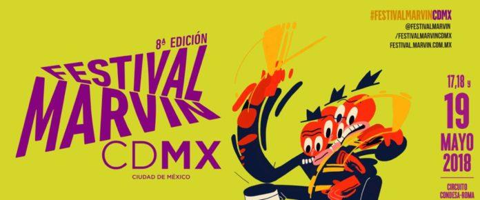 Cartel del Festival Marvin 2018