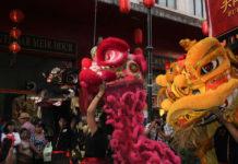 Danzas del Año Nuevo chino