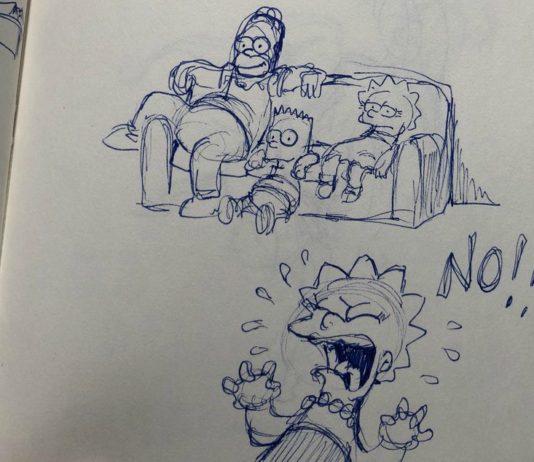 dibujos de los simpsons