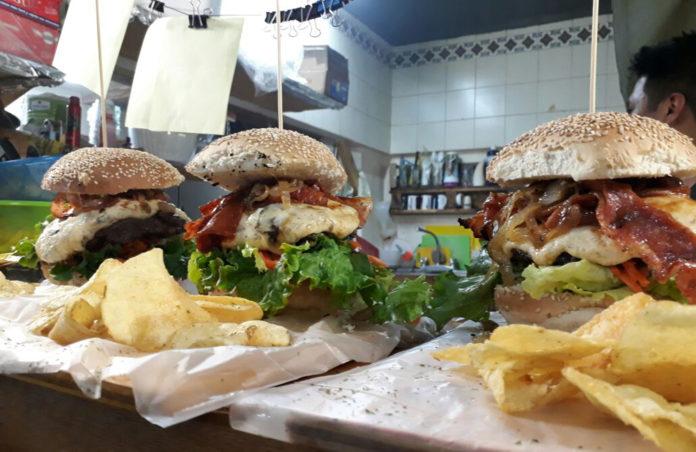 hamburguesas gigantes en CDMX