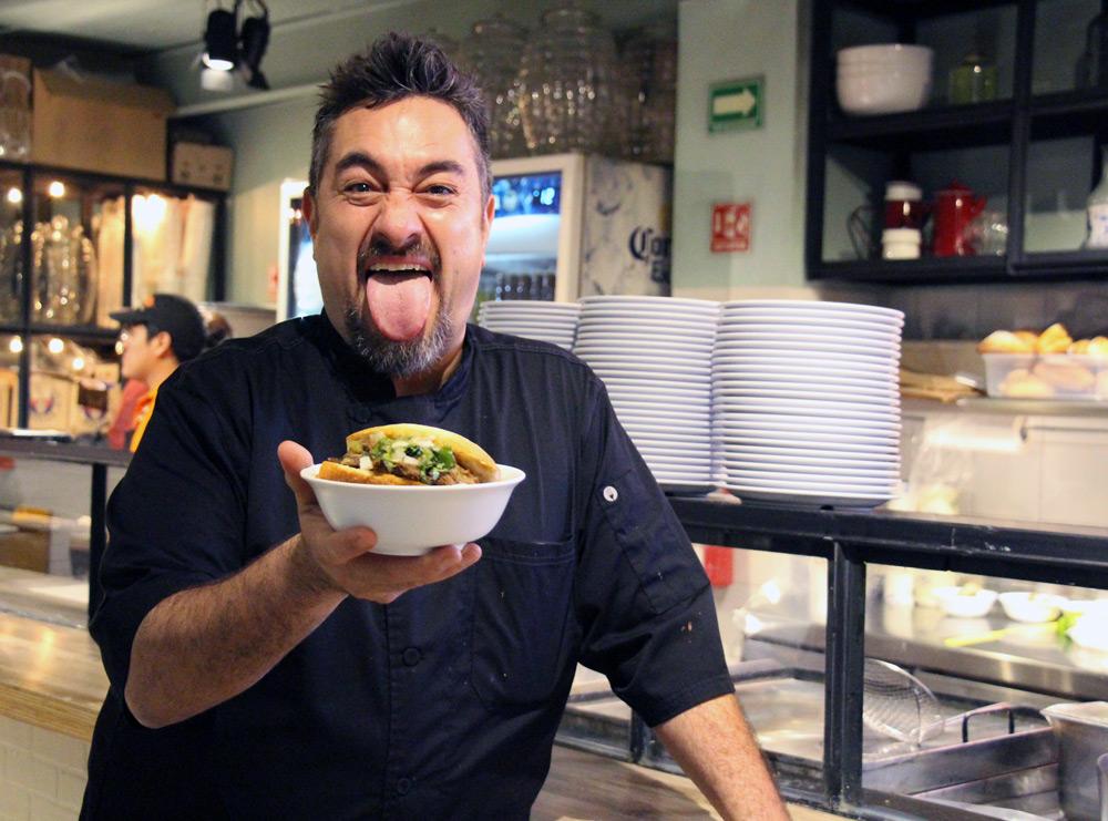 El chef Toño de Livier