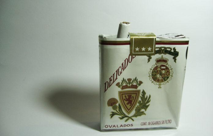 Cigarros delicados