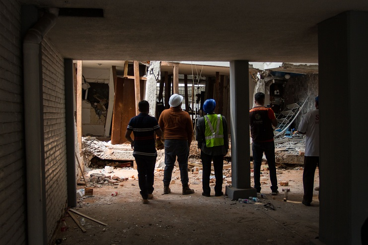 Delegación Iztapalapa dará ayuda para reparar viviendas dañadas por el sismo