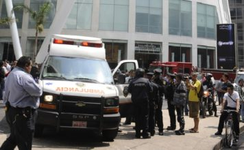 Balacera en Reforma 222 deja heridos