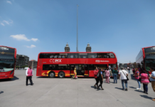 Metrobús de doble piso