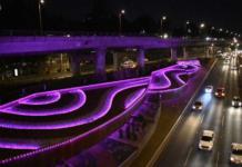 iluminación artística en San jerónimo