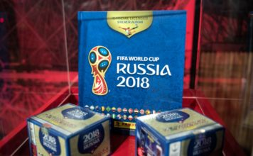 Álbum Panini del Mundial Rusia 2018