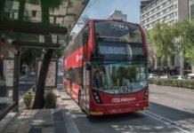 choque del metrobús de dos pisos