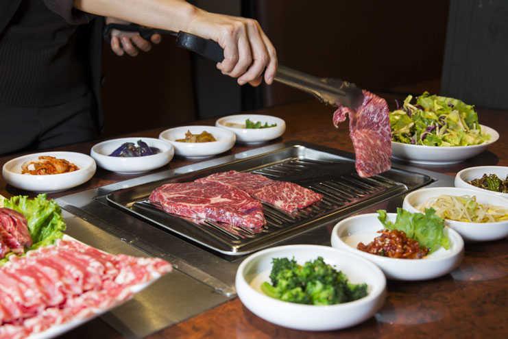BBQ coreano en CDMX