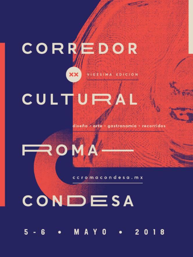 Corredor Cultural Roma Condesa 20 poster
