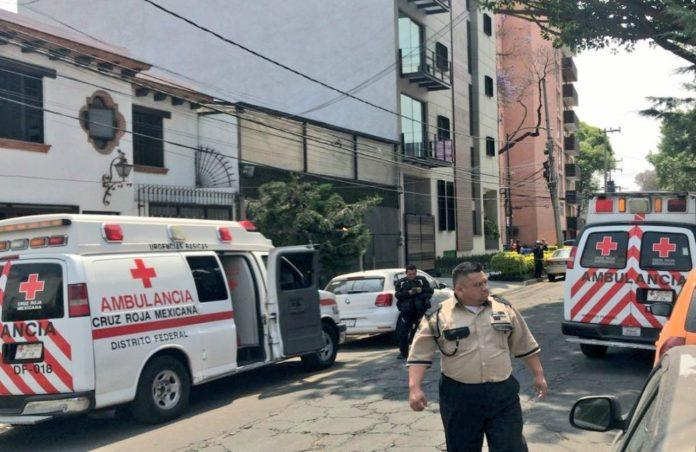 Fuga de gas en la Narvarte afectó a 15 jóvenes de un centro educativo