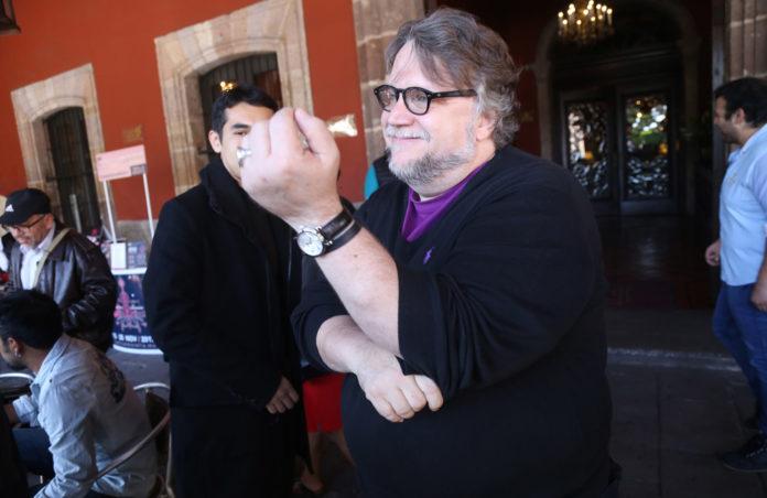 Guillermo del Toro en CDMX